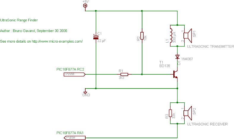 transducer circuit diagram